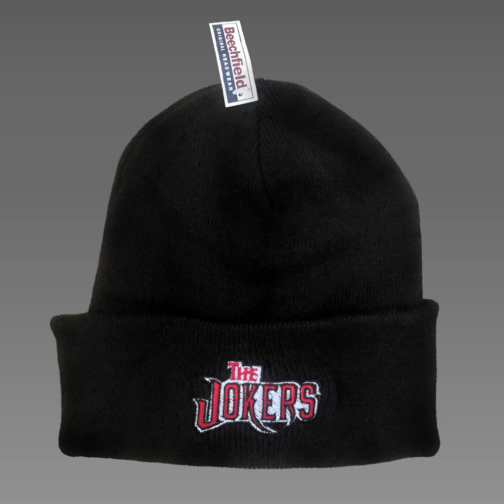 The Jokers » Black Beanie Hat
